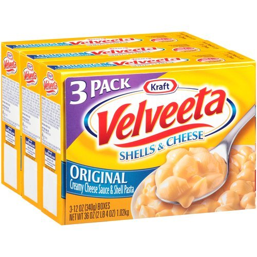 Kraft Velveeta Original Shells & Cheese, 12 oz, 3 count