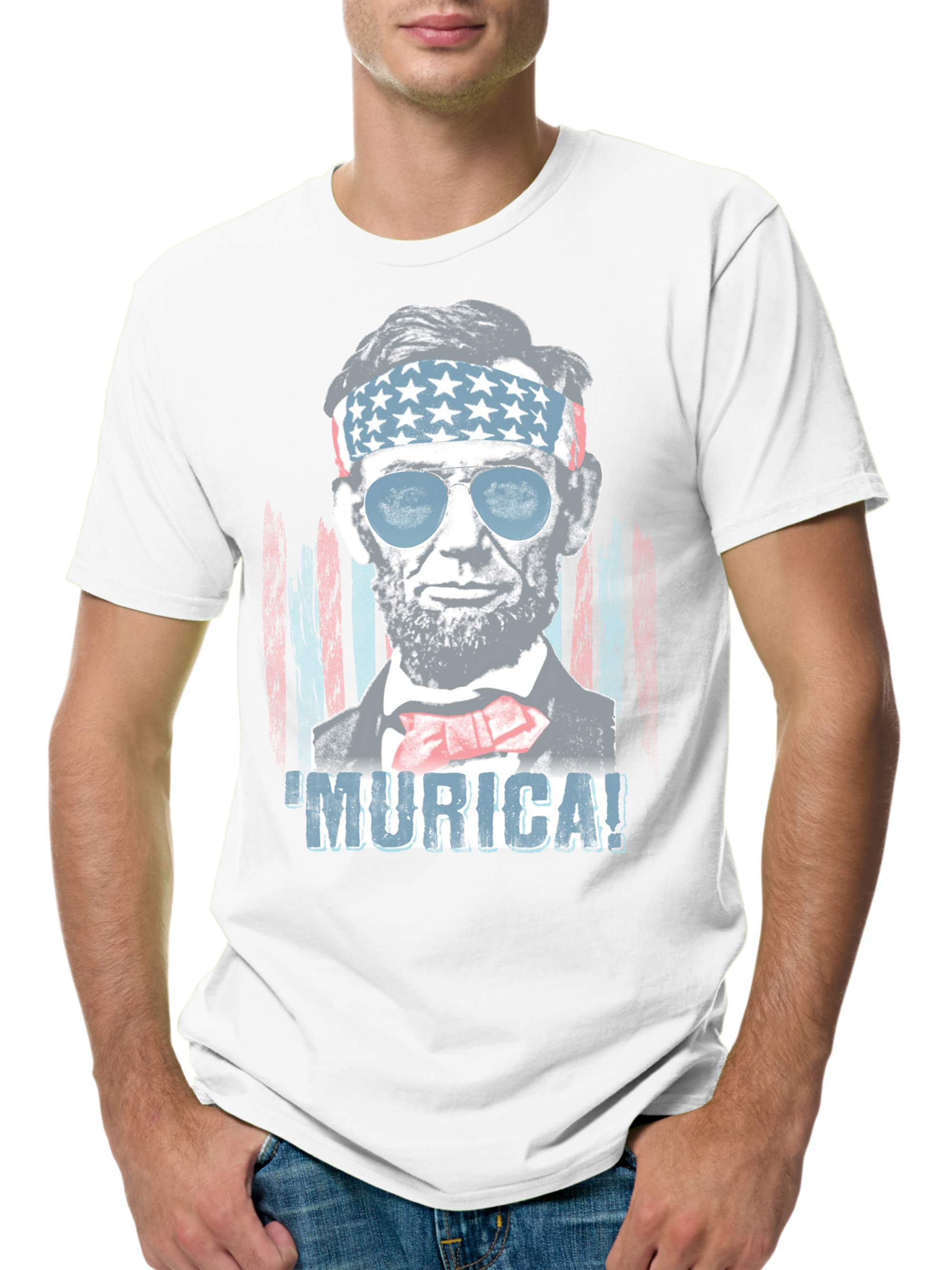 Men's Lightweight Graphic Tee - Americana Collection