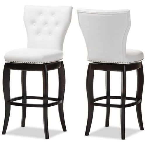 Pepperton Tufted Swivel Counter Stool In 2019: Set Of 2 Baxton Studio Leonice Modern And Contemporary