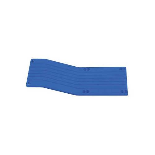 80895 Center Skid Plate T-Maxx/E-Maxx Blue Multi-Colored