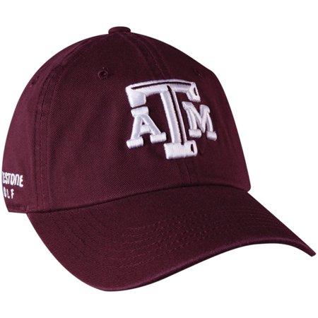 f5524f3ea36 NEW NCAA Texas A M Aggies Maroon White Adjustable Golf Hat Cap