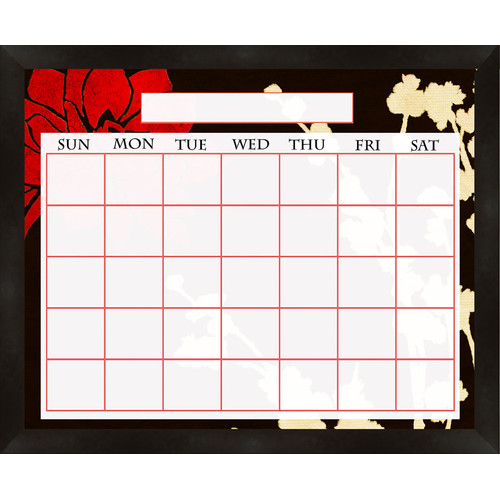PTM Images Lotus Wall Mounted Dry Erase Board