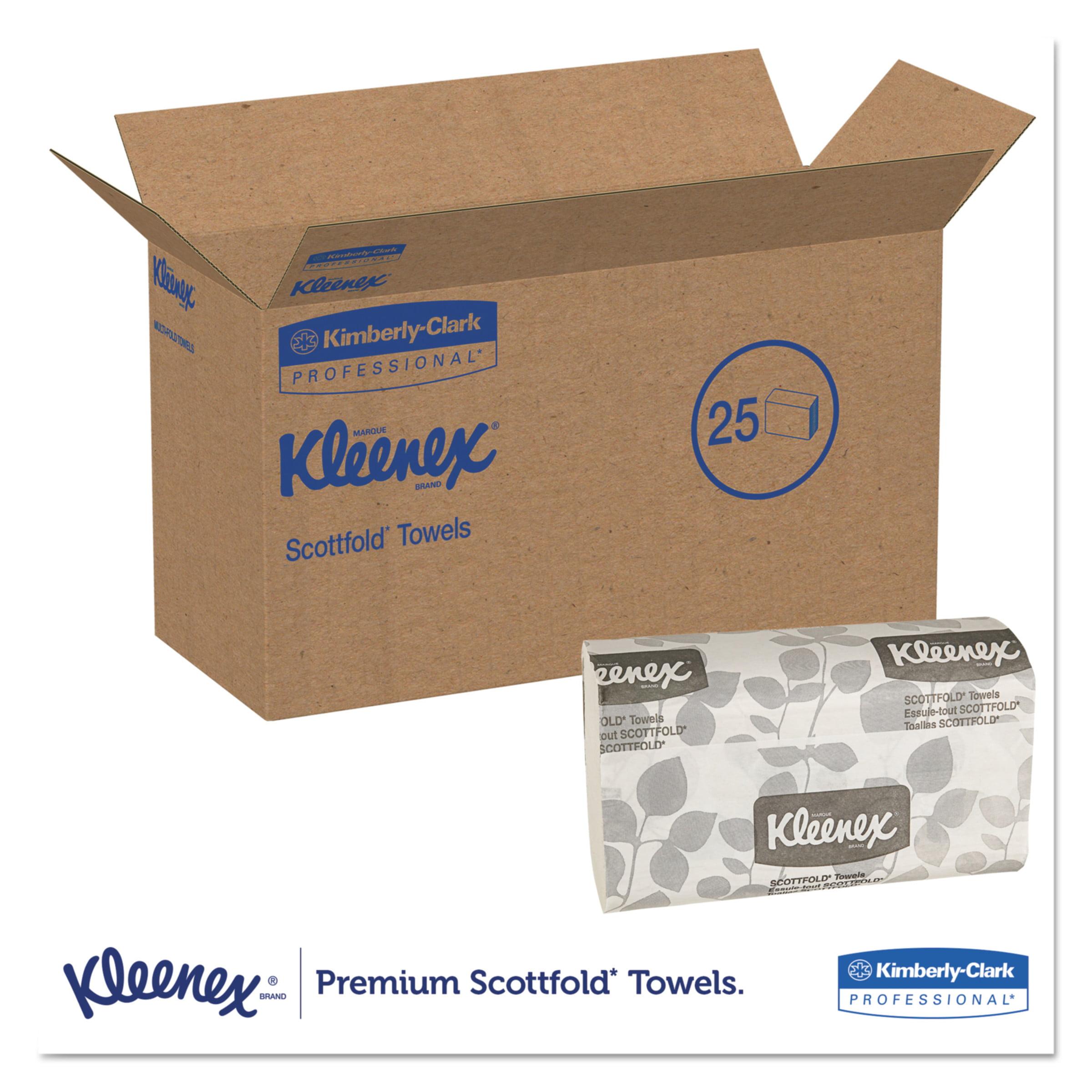"7.8/"" x 12.4/"" NEW CASE 3000pc Kleenex 13253 Paper Towels Folded"