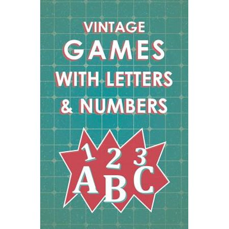 Vintage Games with Letters and Numbers - eBook Vintage Book Game