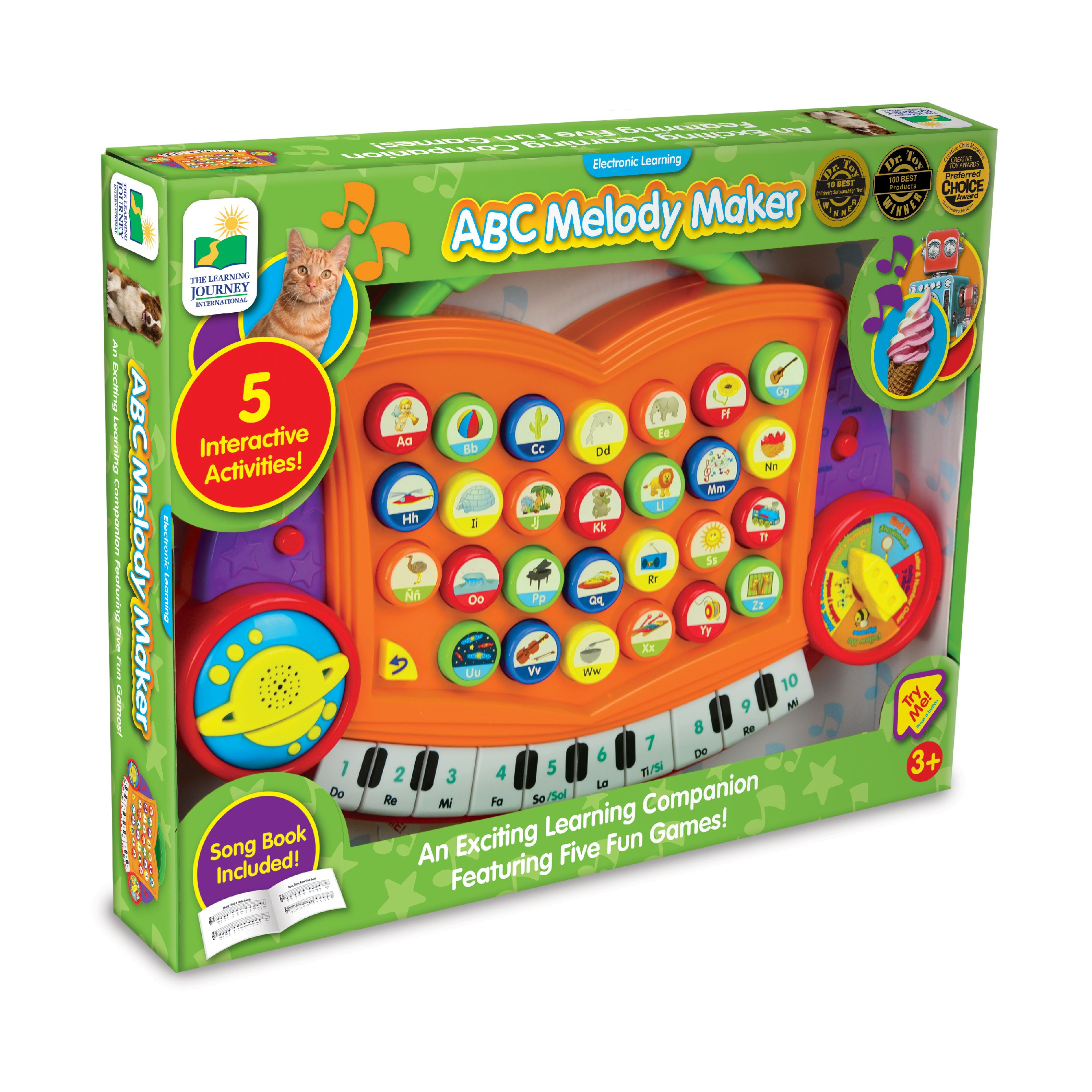 The Learning Journey ABC Melody Maker