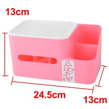 Bathroom Kitchen Plastic Tissue Paper Napkin Container Storage Box Holder Pink - image 5 of 6