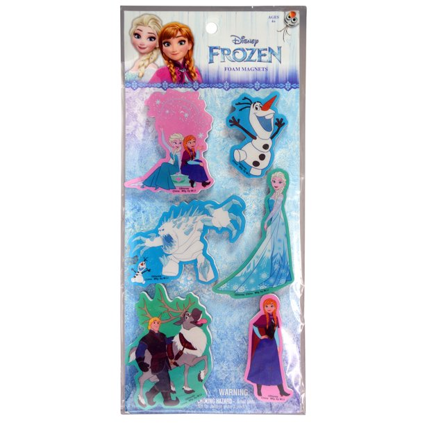Disney Frozen Foam Magnets Cartoon Character Design Elsa Anna Olaf Kristoff Sven Marshmallow Fridge Ice Queen Decor Preshooler Kindergarten Movie Collection Children S Party Favor Stationery Toys Walmart Com Walmart Com
