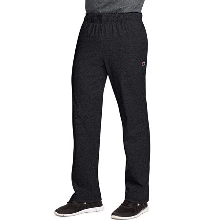 P7309 Mens Open Bottom Jersey Pants, Granite Heather Grey - Extra Large (Dirt Bike Jersey And Pants Mens)