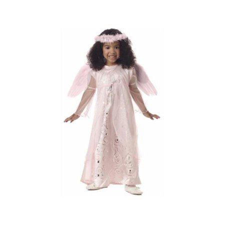 Toddler Pink Harmony Angel Costume - Funny Mother Daughter Halloween Costumes