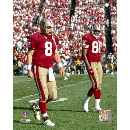 Steve Young & Jerry Rice Photo (Steve Young Jerry Rice)