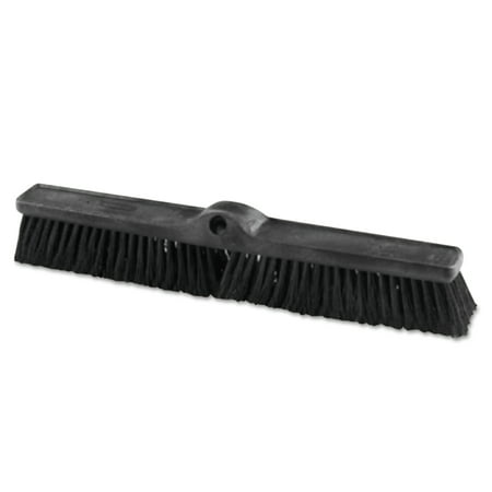Rubbermaid Commercial Heavy Duty Push Broom Rough Surface, 24