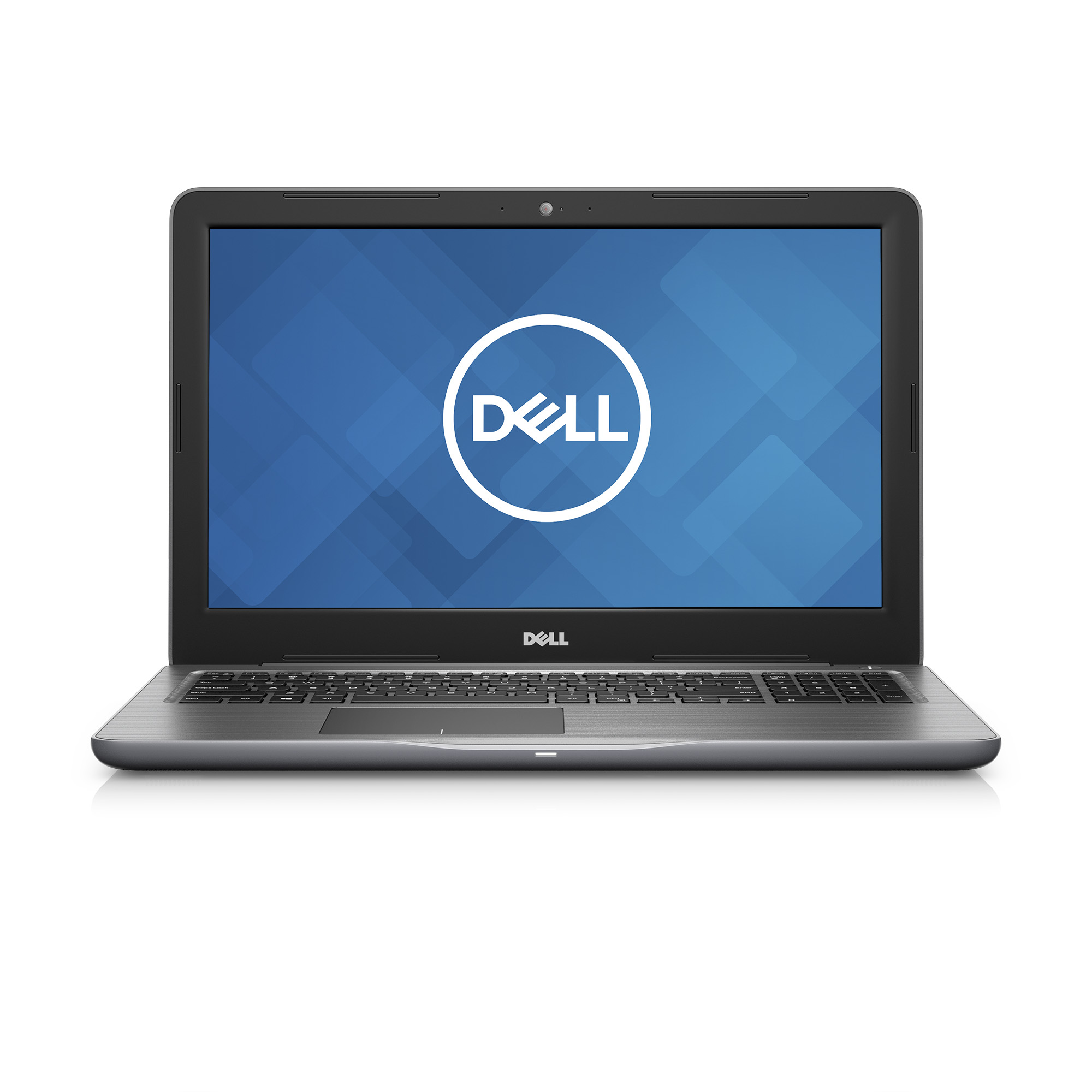 "Refurbished Dell i5565-A000GRY-PUS 15.6"" Laptop PC with AMD A12 2.5GHz 12GB RAM 1TB HDD Grey"