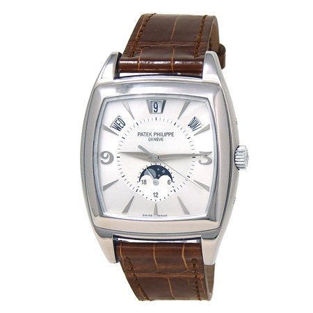 Pre-Owned Patek Philippe Gondolo 5135G-00 Gold 38mm Watch (Certified Authentic & Warranty)