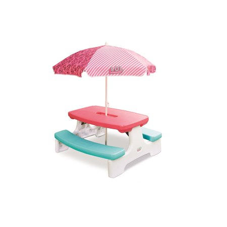 L.O.L. Surprise! Picnic Table with Umbrella Now $49.98 (Was $109.99)