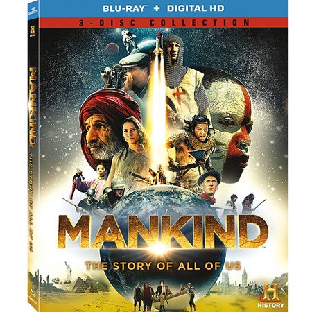 Mankind  The Story Of All Of Us  Blu Ray