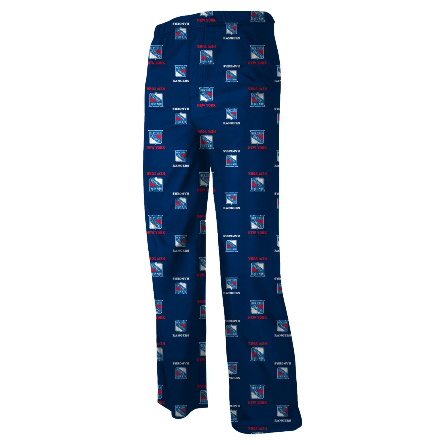 New York Rangers Youth NHL Logo Pajama Pants by Outerstuff