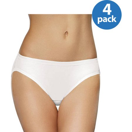 Fruit of the Loom Ladies 4pk Breathable Bikini