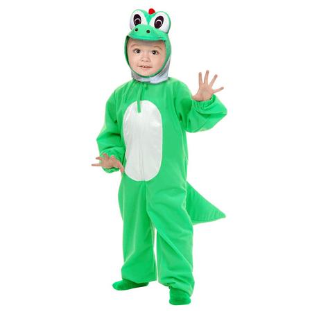 Yoshi Child Costume Super Mario Brothers Green Dinosaur Toddler Kids Boys Youth - Yoshi Costume Pattern