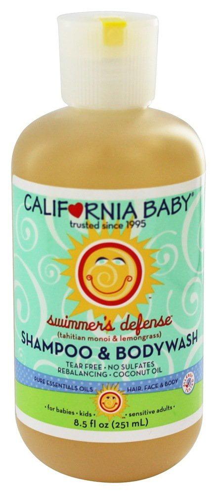 California Baby Aromatherapy Shampoo & Bodywash Swimmer's Defense 8.5 oz.(pack of 3) by California Baby