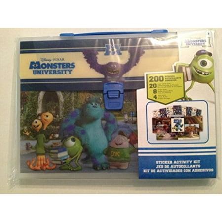 Disney Monsters University Sticker Activity Kit
