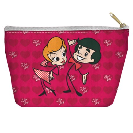 I Love Lucy Ricky and Lucy Accessory Pouch White 8.5X6 (I Love Lucy And Ricky Halloween Costumes)