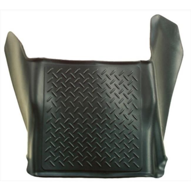 Weatherbeater Series Thermoplastic Olefin Black Center Hump Floor Liner