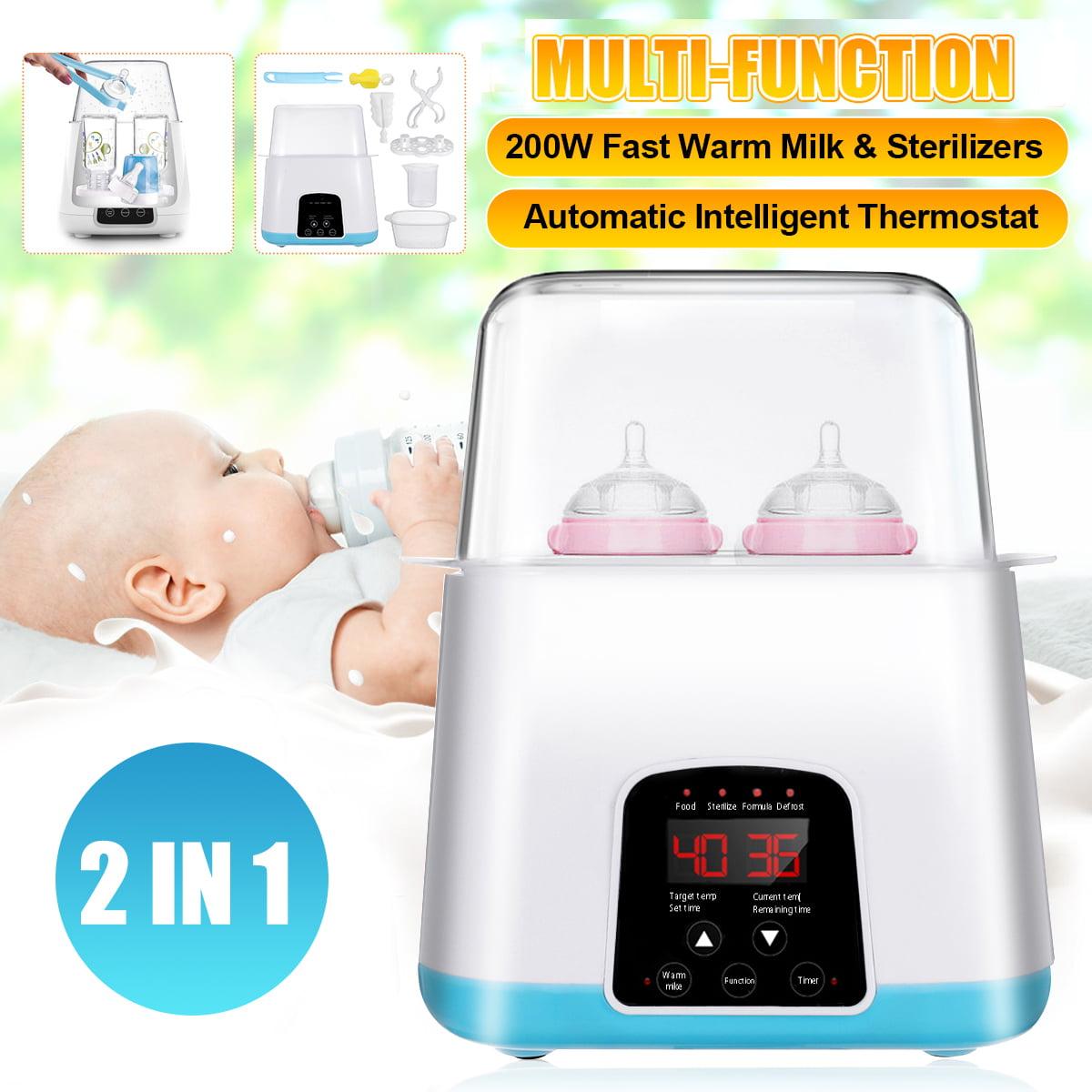 2-in-1 Baby Milk Bottle Warmer Bottle Sterilizer Bottle ...