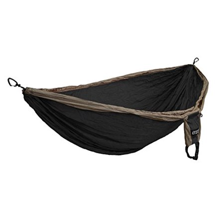 Eagles Nest Outfitters Double Deluxe Hammock  Khaki Black