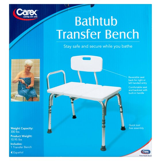Outstanding Carex Tub Transfer Bench Component - Bathtub Ideas ...