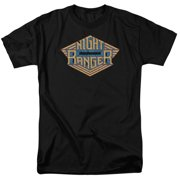 Night Ranger Logo Mens Short Sleeve Shirt