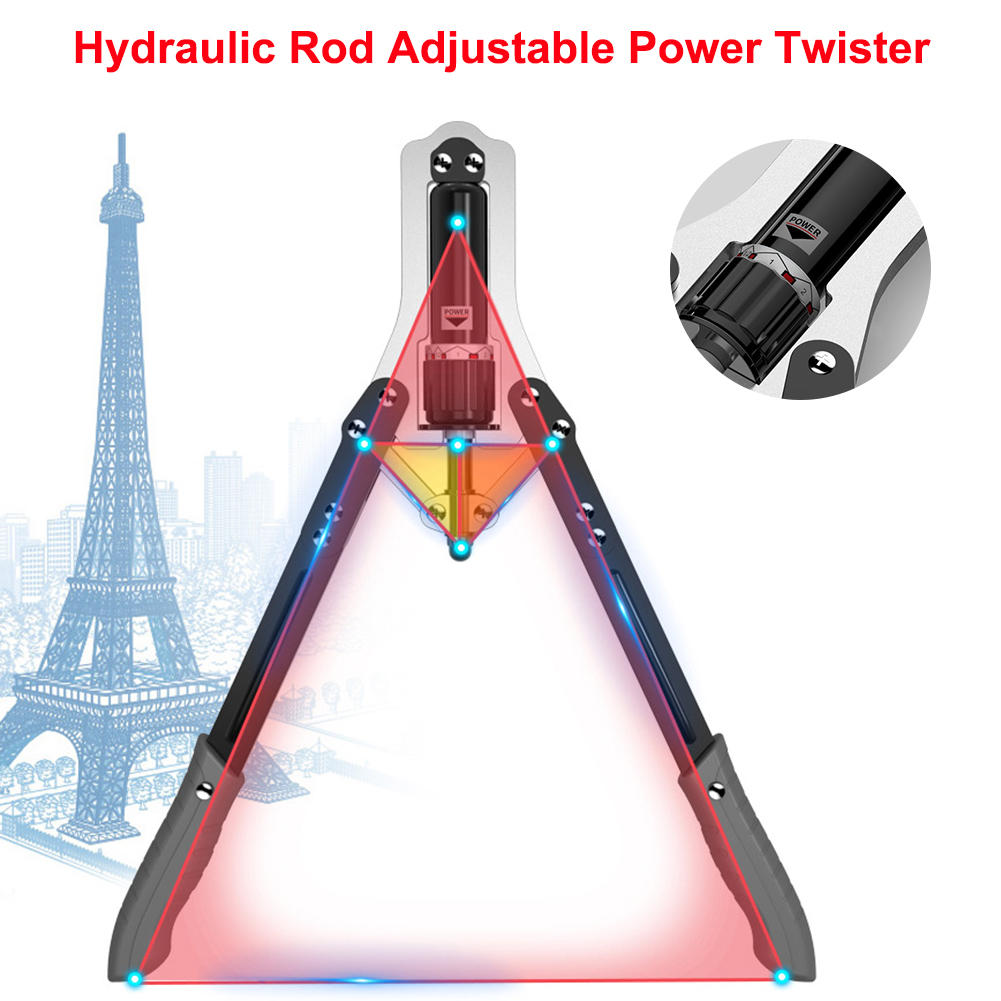 Details about  /Arm Exercise Tool Cylinder Adjustable Power Twister Fitness Training Machine