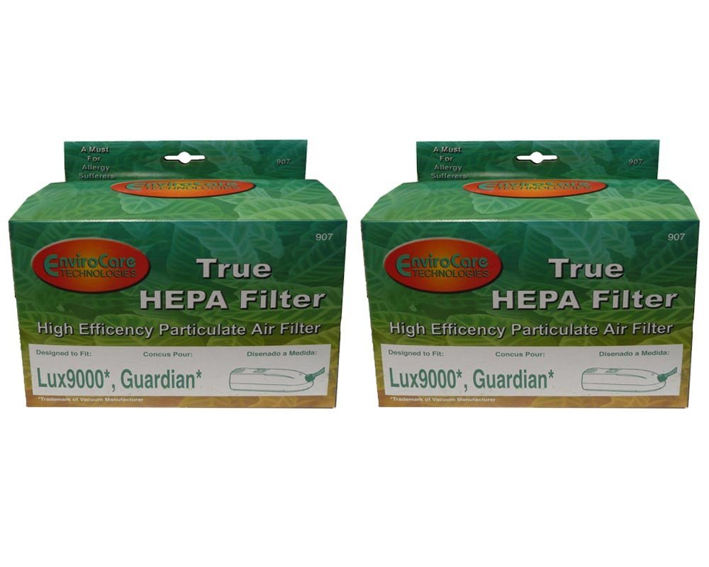 2 NEW LUX 9000 HEPA FILTER FOR LUX ELECTROLUX AERUS GUARDIAN