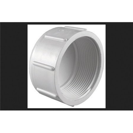 Fpt Threaded Pvc Union (Charlotte Pipe Cap Sch 40 Pvc 2-1/2