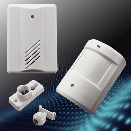 - Driveway Patrol Garage Motion Sensor Alarm Infrared Wireless Alert Secure System