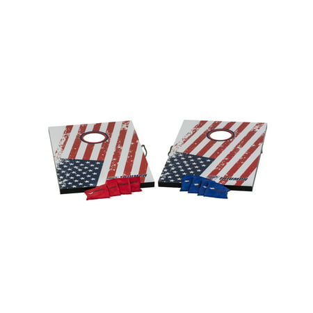 Triumph Patriotic Bean Bag Toss Set Includes Two Boards and Eight All-Weather Bean Bags ()