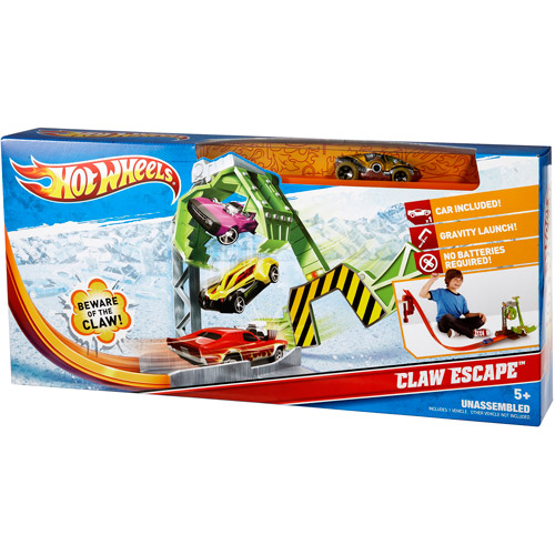 Hot Wheels Claw Escape Play Set