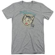 Puss N Boots Cats Pajamas Mens Tri-Blend Short Sleeve Shirt