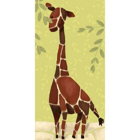 Oopsy Daisy - Canvas Wall Art Gillespie The Giraffe 12x24 By Meghann -