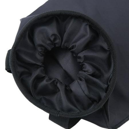 Worldwide Waterproof Car Trash Bin Garbage 210D Oxford Black Back Seat Travel Storage Car Trash Bin - image 4 of 7