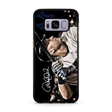 Derek Jeter Batting Galaxy S8 Plus Case