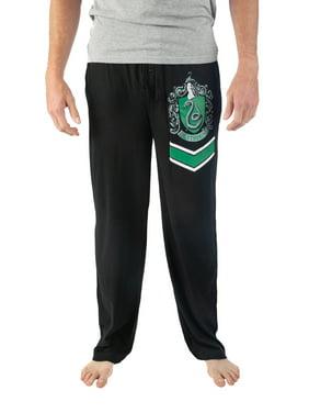 Harry Potter Men's Hogwarts House Crest Pajama Lounge Pant