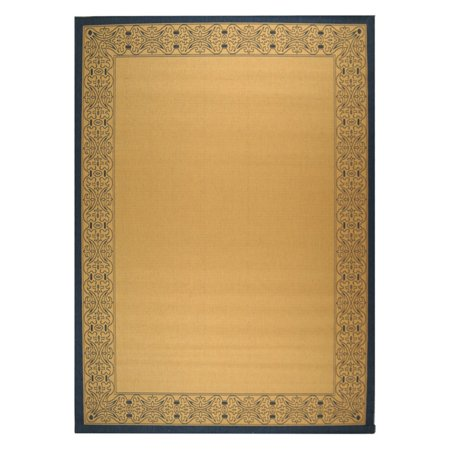 - Safavieh Courtyard CY2099 Indoor/Outdoor Area Rug Natural/Blue
