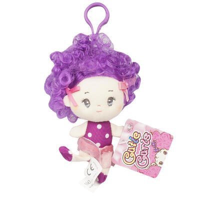 Wholesale Keychains Bulk (New 214860  Keychain 4 Plush Violet Dol Lw (144-Pack) Cheap Wholesale Discount Bulk Apparles.)