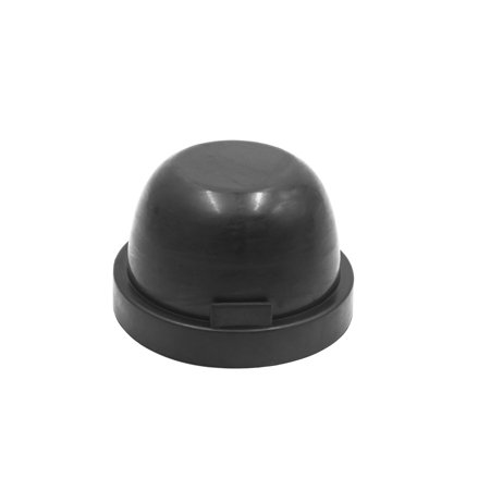 2pcs 80mm Black Rubber Waterproof Car LED Headlight Dust Cover Seal Cap Housing - image 2 of 4