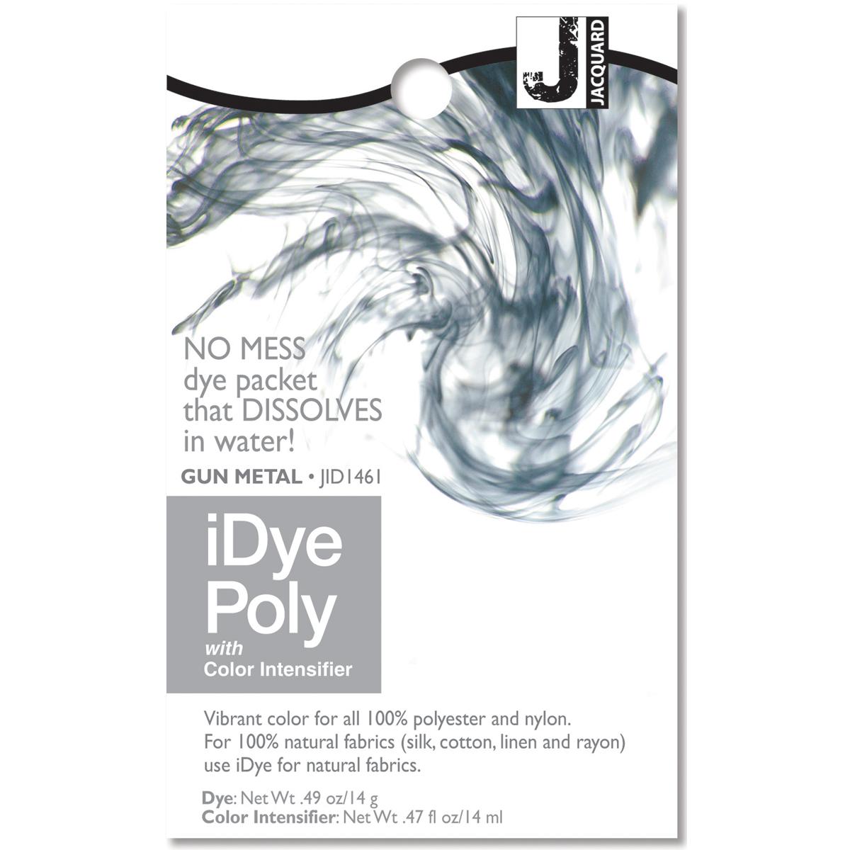 Jacquard iPoly Fabric Dye 14g-Gun Metal