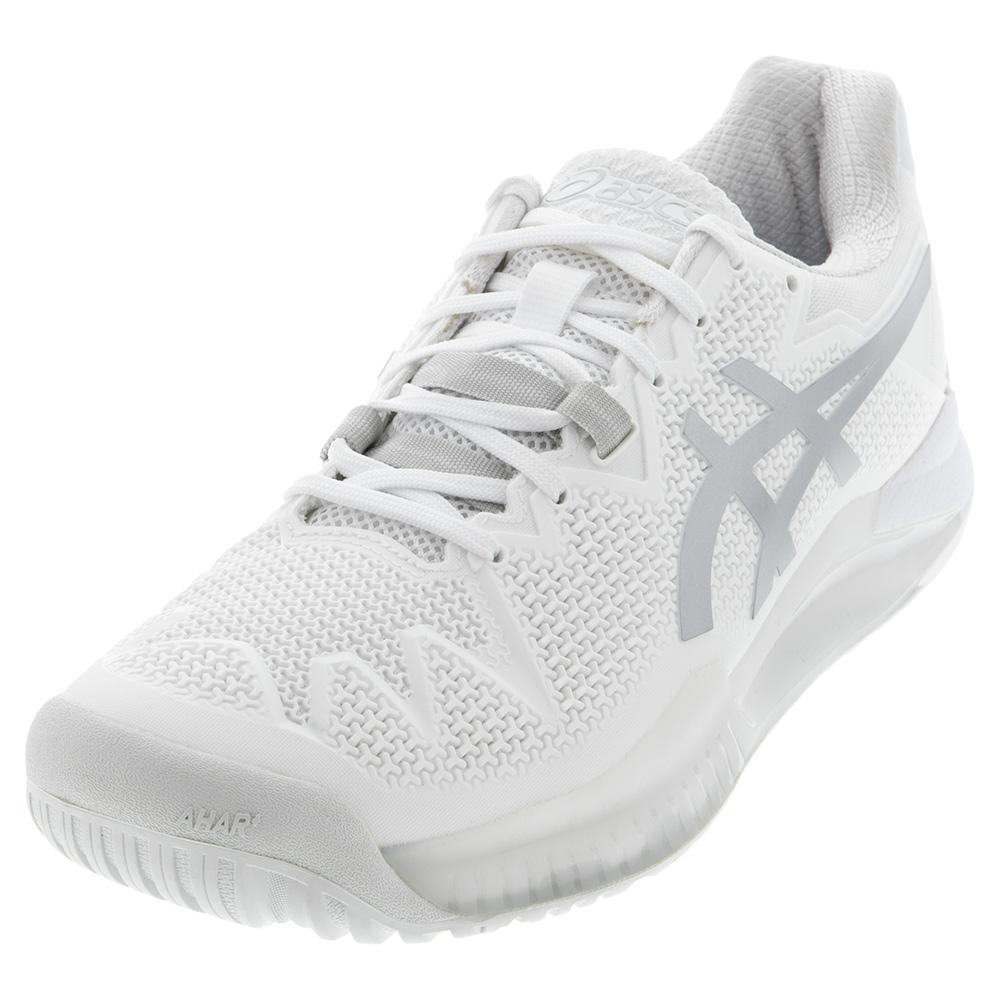 Tennis Shoes White and Pure Silver