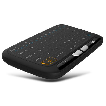 Docooler H18 2.4GHz Clavier Sans Fil Télécommande Touchpad Complète Mode Souris Clavier avec Grand Pavé Tactile Retour de Vibrations pour Smart TV Boîte TV Android PC Portable - image 4 of 7