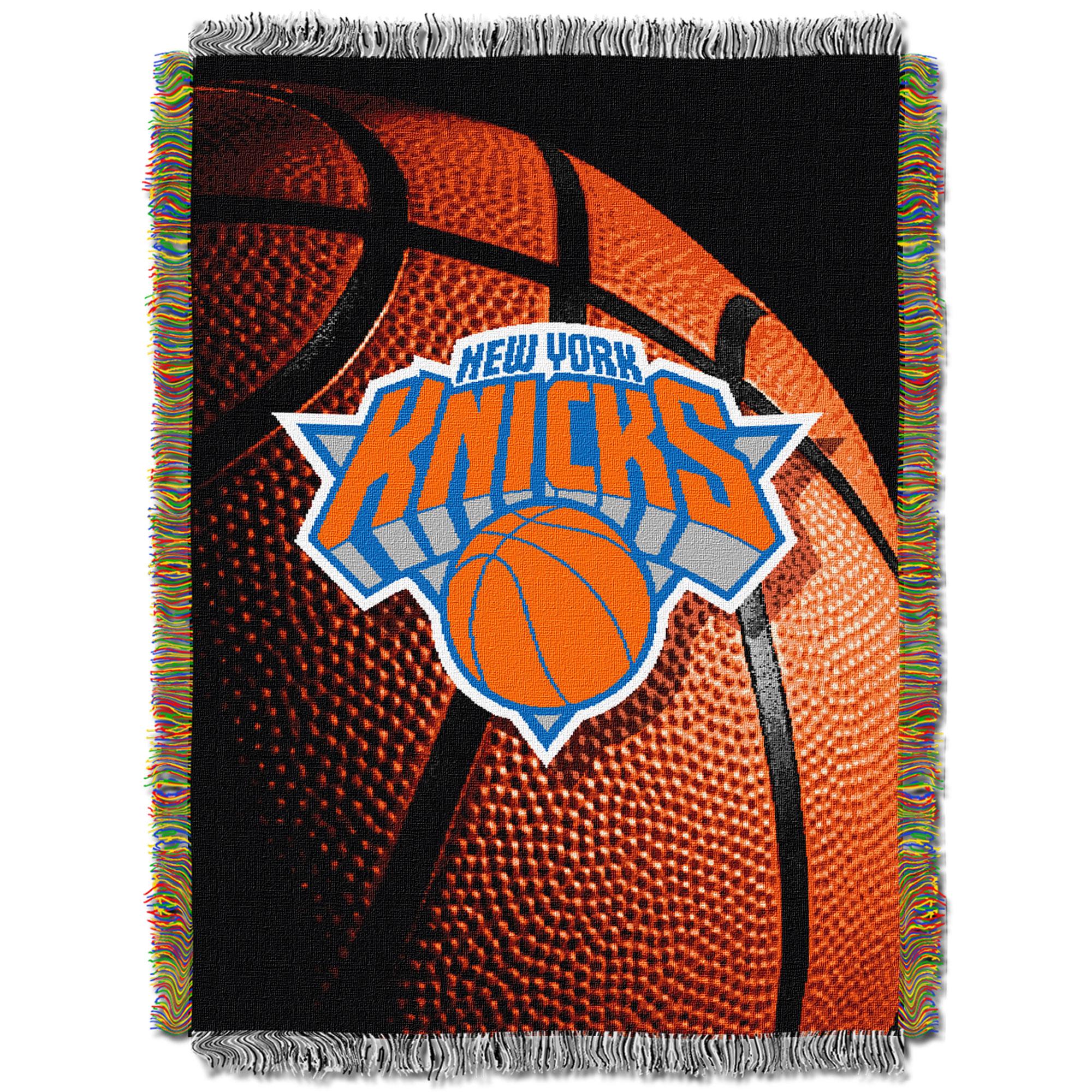 New York Knicks The Northwest Company 48'' x 60'' Photo Real Woven Tapestry Throw - No Size