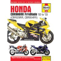 Haynes Honda CBR900RR Fireblade '00 to '03 : CBR929RR, CBR954RR