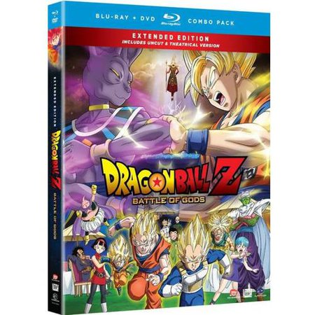 Dragon Ball Z: Battles Of Gods (Extended Edition) (Blu-ray +